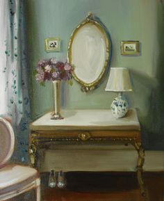 """""""French Antiques"""" by Janet Hill"""
