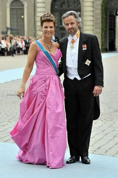The Crown Princess of Sweden's Wedding: HH Princess Märtha Louise of Norway (19 Jun 2010) [PHOTO: Pascal Le Segretain/Getty Images]