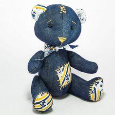 Denim Sailor Bear by MamaKarloShop on Etsy