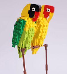 Bird Enthusiast Creates LEGO Birds And 10,000 Supporters Get LEGO To Mass-Produce Them | Bored Panda