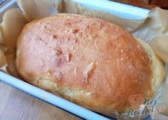 Ratz-Fatz-Brot ohne Aufwand, ohne Gehzeit und mit knuspriger Kruste Ratz-Fatz-bread without effort, without walking time and with crunchy crust Bread Recipes, Baking Recipes, Snack Recipes, Chef Kitchen Decor, Czech Recipes, Yummy Food, Good Food, Bread Baking, Food Hacks
