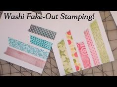 MAKE YOUR OWN FAUX WASHI TAPE