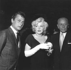 CANDID MARILYN MONROE WITH TONY CURTIS AND GEORGE RAFT    8x10 PHOTO 171   Collectibles, Photographic Images, Contemporary (1940-Now)   eBay!