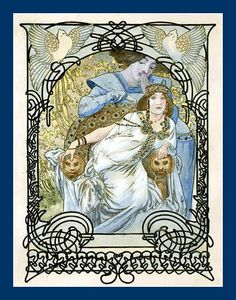 Mucha - Ilsee Princesse de Tripoli by mpt.1607, via Flickr