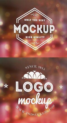 Free Window Signage Logo MockUp PSD #freepsdfiles #psdmockup #mockuptemplate #freemockups