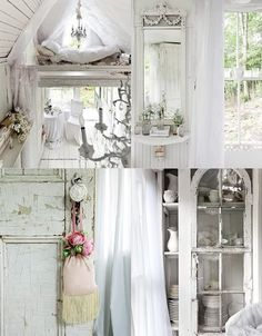 [ White Wonderland: Hunting cabin, turned Victoria cottage. ]