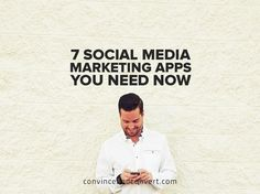 7 #SocialMedia marketing apps you need now | by @jayselig on @Medium | #SMM #Mobile