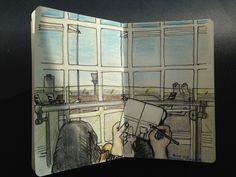 Drawing Planes Oct 2015 by David Coxon
