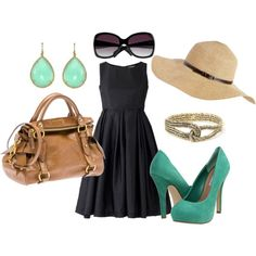 Spring Dress outfit, created by kregan09.polyvore.com