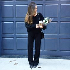 Love the ribbed pant and sweater set. Arielle Noa Charnas (@somethingnavy) • Instagram photos and videos