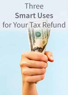 Three Smart Uses for Your Tax Refund. Credit Expert, Kimberley Rotter, reminds us that a tax refund is NOT a bonus check! Financial Tips, Financial Planning, Financial Markets, Ways To Save Money, How To Make Money, Money Tips, Money Budget, Cash Money, Sell Your Business