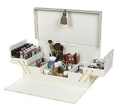 Qvc Makeup Organizer Captivating Tabletop Spinning Cosmetic Organizerlori Greiner  Pinterest