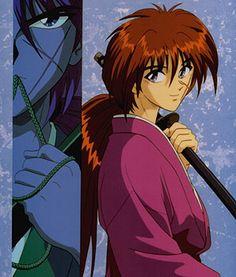 Kenshin Himura → Rurouni Kenshin