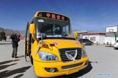 school buses | ... inputs 13 million yuan for school buses - Xinhua | English.news.cn
