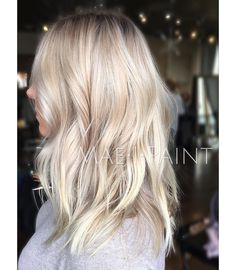 """""""Our @juleshough and @riawnacapri Inspired cut. Color from a awhile back. It's just so cute it's making me want to chop my hair #hairbymarissamae"""""""