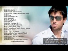 A great collection by Enrique Iglesias .... Best Songs Of Enrique Iglesias || Greatest Hits 2014