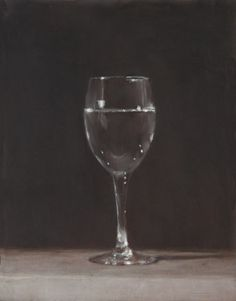 Still Life - Glass of water by Harry Holland
