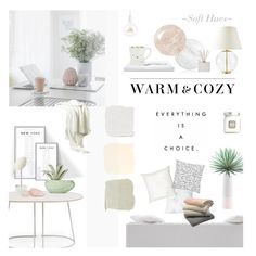 """""""Warm, Cozy & Soft"""" by happilyjynxed ❤ liked on Polyvore featuring interior, interiors, interior design, home, home decor, interior decorating, Levi's, Muuto, Farrow & Ball and Benjamin Moore"""