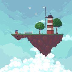 Animations/sprites on Behance Gifs, 1366x768 Wallpaper Hd, Gorillaz Fan Art, Arte 8 Bits, Arte Steampunk, Cool Pixel Art, Pixel Animation, Hippie Art, Ship Art