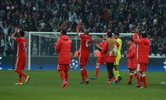 SL Benfica na Liga dos Campeões, capitaneada por Luisão!