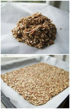 Whole Grain Multi-Seed Crackers | http://www.gluten-free-vegan-girl.com/2013/08/whole-grain-multi-seed-crackers.html