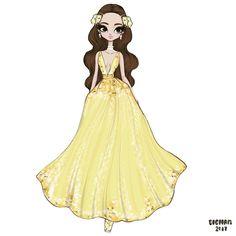 "1,131 Likes, 5 Comments - BIGHAM (@bigham_illustration) on Instagram: ""#belle #beautyandthebeast"""