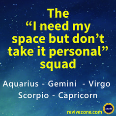 zodiac signs, gemini, virgo, scorpio, capricorn, aquarius