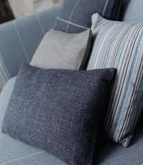 For my giant sofa. The exquisite and oh so stylish and classically enduring saville row wool fabrics by Warwick.