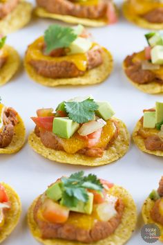 Perfect for entertaining with a Tex-Mex flair, these Nacho Bites are the perfect way to serve your guests a 2-bite nacho without all the mess!