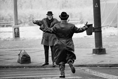 Brothers meet for a Christmas reunion after being separated by the Berlin Wall for over 2 years. From Dec 20th, 1963 - Jan 5th, 1964, West Berlin residents were allowed one-day passes to visit relatives in the East.