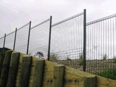 Get Gates & Fence It - Retaining wall contoured fence Sliding Gate, Fencing, Gates, Commercial, Wall, Fences, Sliding Door, Gate