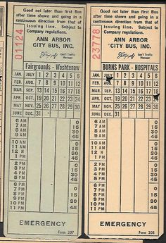 Ann Arbor (Michigan) City Bus, Inc.