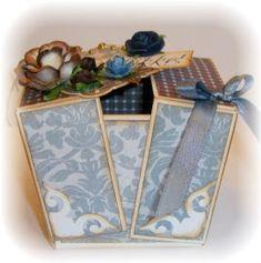 Jeg har laget litt med Inkidos produkter igjen, og først ut er en gaveeske. Denne esken er brettet av et stykke kartong, og har du lyst til...