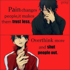 Pain changes people..  PV/Anime: Lost time memory/ Mekakucity actors