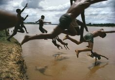 I've always loved this image by photojournalist Bruno Barbey.