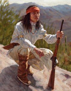 Sentinels of the Sonoran Desert – Apache | James Ayers Studios