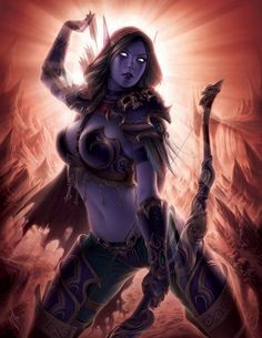 "Art from ""World of Warcraft Tribute"""