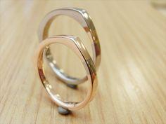 material:k18pg/k18wg wide:2.5mm http://www.yubiwatsukuru.com/