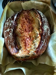 Spelt Flour No Knead Bread | Accidental Artisan. This stunner put a smile on my face when I took it out of the oven!