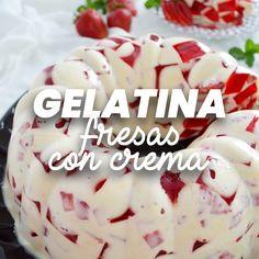 Gelatin Recipes, Jello Recipes, Köstliche Desserts, Delicious Desserts, Dessert Recipes, Mexican Jello Recipe, Cooking Recipes, Cooking Box, Cooking Steak