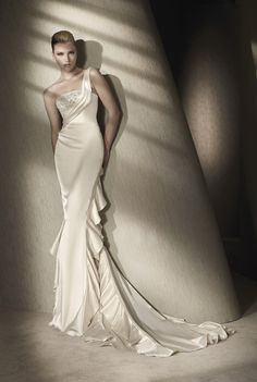 silk wedding gown - Google Search