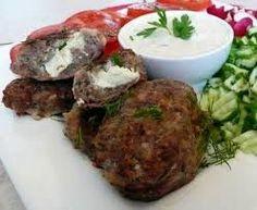 recept 29, Bifteki met feta2
