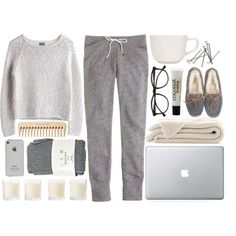 cozy grays / m-balli polyvore