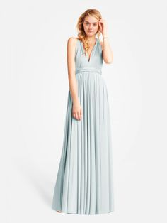 Maxi Convertible Chiffon Dress this is like the 2 birds one,only thing is they all seem to be backless!