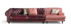 Sectional sofa by Fratelli Boffi design Ferruccio Laviani Sofa Furniture, Sofa Chair, Sectional Sofa, Couch, Boffi, Classic Collection, Sofa Design, Modern Classic, Traditional
