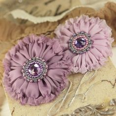 love these as hair clips!!