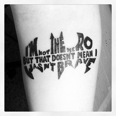 Tegan & Sara Tattoo. In the shape of the Batman symbol. | Tegan and ...