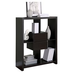 "Found it at Wayfair - 48"" Room Divider Bookcase II in Cappuccino"