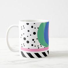 Memphis Design Pattern Road Coffee Mug Jan 18 2017 #junkydotcom #zazzle
