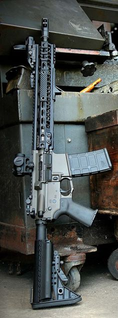 Another Joint Force Enterprises custom with a Geissele SMR MK4 rail.